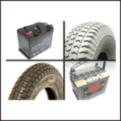 batteries and tyre products